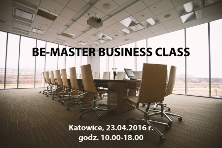 BE-MASTER BUSINESS CLASS